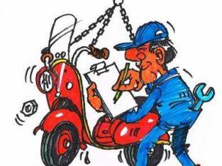 2takt scooter en brommer reparatie