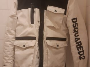 dsquared  2 heren jas wit
